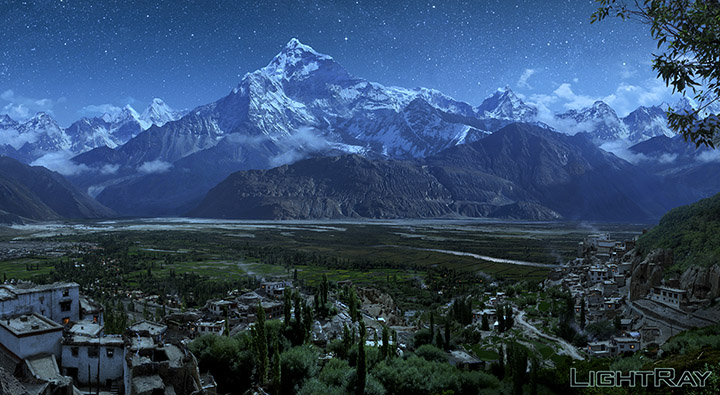 Matte Painting and 3D Environment