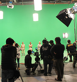Green Screen Shoot for Taiwan's National Palace Museum.
